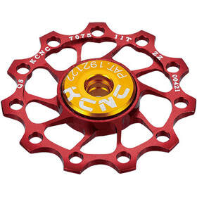 KCNC Ultra Jockey Wheel 10T SS Bearing, red